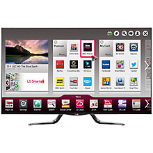 Buy LG 55LA790W LED HD 1080p 3D Smart TV, 55 Inch with Freeview HD and 4x 3D Glasses Online at johnlewis.com