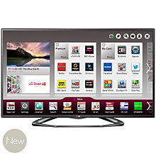 Buy LG 47LA620V LED HD 1080p 3D Smart TV, 47 Inch with Freeview HD and 4x 3D Glasses with FREE Blu-ray Player Online at johnlewis.com