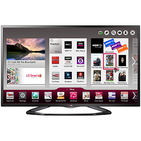 "Buy LG 47LN575V LED HD 1080p Smart TV, 47"" with Freeview HD Online at johnlewis.com"
