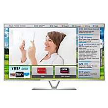 Buy Panasonic Viera TX-L55ET61B LED HD 1080p 3D Smart TV, 55 Inch with Freeview HD and 2x 3D Glasses Online at johnlewis.com