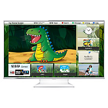 Buy Panasonic Viera TX-L55WT65B LED HD 1080p 3D Smart TV, 55 Inch with Freeview/Freesat HD & 4x 3D Glasses Online at johnlewis.com