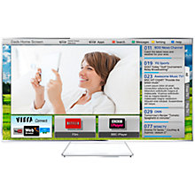 "Buy Panasonic Viera TX-L47WT65B LED HD 1080p 3D Smart TV, 47"" with Freeview/Freesat HD & 4x 3D Glasses Online at johnlewis.com"