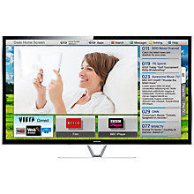 Buy Panasonic Viera TX-P55VT65B Plasma HD 1080p 3D Smart TV, 55 Inch, Freeview/Freesat HD and Voice Recognition with 2x 3D Glasses Online at johnlewis.com