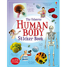 Buy The Usborne Human Body Sticker Book Online at johnlewis.com