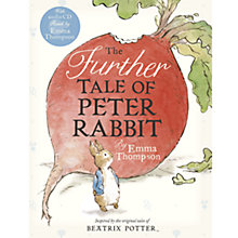 Buy The Further Tale of Peter Rabbit with Audio CD Online at johnlewis.com