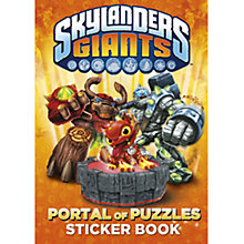 Buy Skylanders Giants Portal of Puzzles Sticker Book Online at johnlewis.com