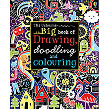 Buy The Usborne Big Book of Drawing, Doodling and Colouring Online at johnlewis.com