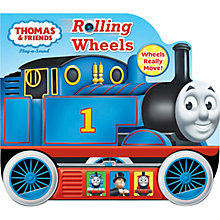 Buy Thomas the Tank Engine Rolling Wheels Sound Book Online at johnlewis.com