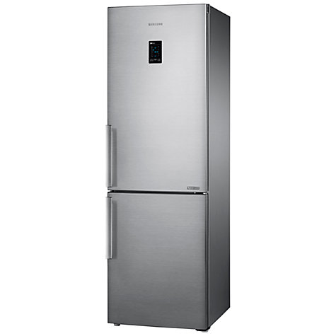 Buy Samsung RB31FEJNCSS Fridge Freezer, Brushed Steel Online at johnlewis.com