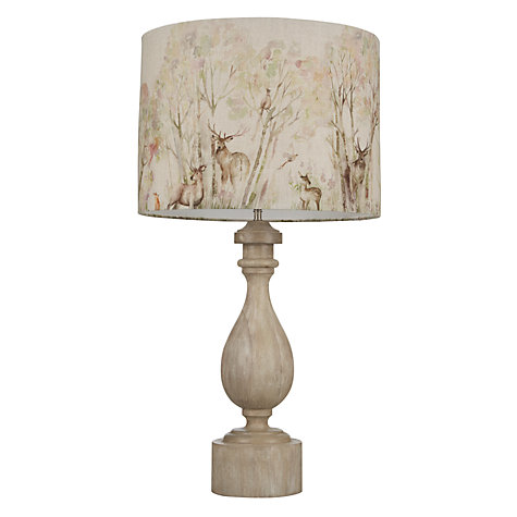 Buy John Lewis Marielle Wood Lamp Base, Sand Online at johnlewis.com