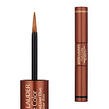 Buy Estée Lauder Pure Color Liquid Eyeliner Duo, Black Sands Online at johnlewis.com