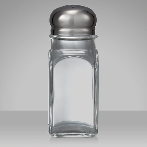Buy John Lewis The Basics Salt and Pepper Shaker Set Online at johnlewis.com