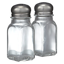 Buy John Lewis Value Salt and Pepper Shaker Set Online at johnlewis.com