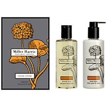 Buy Miller Harris Citron Citron Body Gift Set Online at johnlewis.com