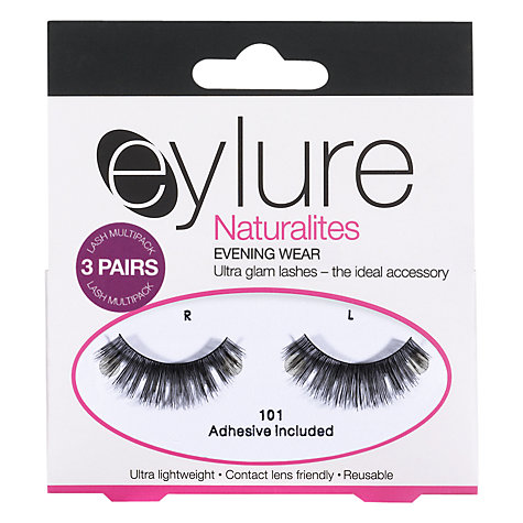 Buy Eylure Naturalites 101 Evening Wear Multi Lashes, Pack of 3 Online at johnlewis.com