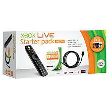 Buy Xbox Live Media Starter Pack, Xbox 360 Online at johnlewis.com