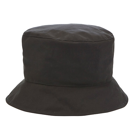 Buy Olney Lynda Waxed Hat, Olive Online at johnlewis.com