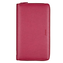 Buy Filofax Pennybridge Compact Organiser, Raspberry Online at johnlewis.com