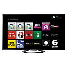 Buy Sony Bravia KDL55W805ABU LED HD 1080p 3D Smart TV, 55 Inch, NFC with Freeview HD Online at johnlewis.com