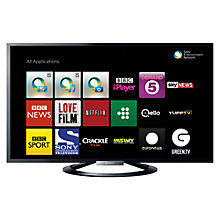 Buy Sony Bravia KDL42W805ABU LED HD 1080p 3D Smart TV, 42 Inch, NFC with Freeview HD Online at johnlewis.com