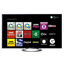 Buy Sony Bravia KDL46W905ABU LED HD 1080p 3D Smart TV, 46 Inch, NFC with Freeview HD and 4x 3D Glasses Online at johnlewis.com