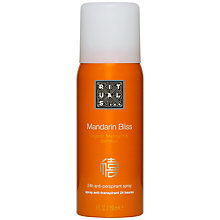 Buy Rituals Mandarin Bliss Organic Mandarin & Bamboo Deodorant Spray, 150ml Online at johnlewis.com
