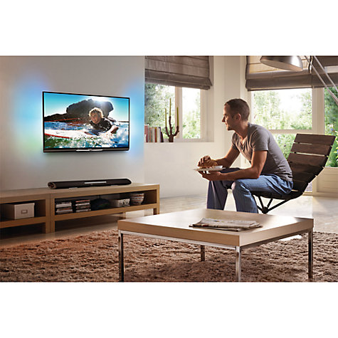 Buy Philips HTL5120/12 5.1 Bluetooth Sound Bar with Integrated Subwoofer Online at johnlewis.com