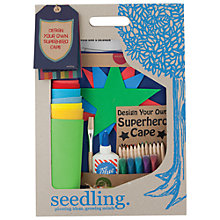 Buy Seedling Design Your Own Superhero Cape Online at johnlewis.com