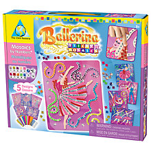 Buy Treasure Trove Sticky Mosaics Ballerina Online at johnlewis.com
