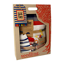 Buy Seedling Create Your Own Sock Toy Pack Online at johnlewis.com