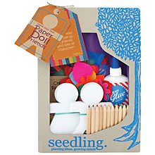 Buy Seedling Create Your Own Paper Doll Friends Online at johnlewis.com