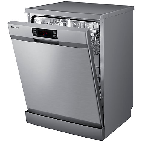 Buy Samsung DW-FN320T Dishwasher, Silver Online at johnlewis.com