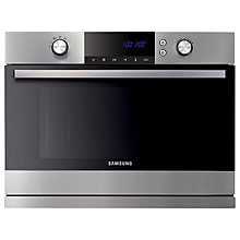 Buy Samsung FQ115T001 Built-in Combination Microwave, Stainless Steel Online at johnlewis.com