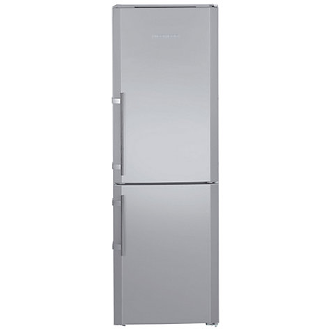 Buy Liebherr CUPSL3221 Fridge-Freezer, A++ Energy Rating, 60cm Wide, Silver Online at johnlewis.com