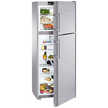 Buy Liebherr CTNES4753 Fridge Freezer, A+ Energy Rating, 75cm Wide, Stainless Steel Online at johnlewis.com