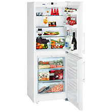 Buy Liebherr CUN3123 Fridge Freezer, White Online at johnlewis.com