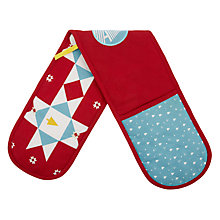 Buy John Lewis Forest Trail Double Oven Glove Online at johnlewis.com