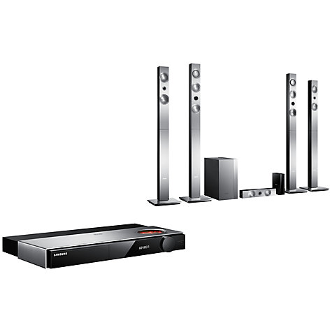 Buy Samsung HT-F9750W 7.1 3D Blu-ray/DVD 4K Upscaling Smart Home Cinema System Online at johnlewis.com
