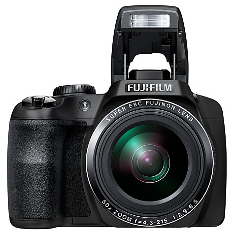 Buy Fujifilm Finepix SL1000 Bridge Camera, HD 1080p, 16.2MP, 50x Optical Zoom, 3 LCD Screen, Black Online at johnlewis.com