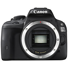 "Buy Canon EOS 100D Digital SLR Camera, HD 1080p, 18MP, 3"" LCD Touch Screen, Body Only with 16GB + 8GB Memory Card Online at johnlewis.com"