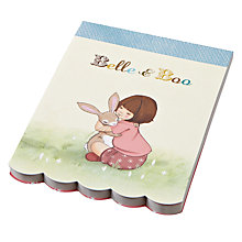 Buy Belle & Boo Die Cut A6 Notepad Online at johnlewis.com