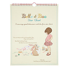 Buy Belle & Boo Star Reward Chart Online at johnlewis.com