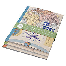 Buy Chronicle Books Bon Voyage Notebooks, Set of 3 Online at johnlewis.com