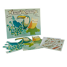 Buy Chronicle Books Birds of a Feather Notecards, Pack of 16 Online at johnlewis.com
