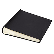Buy John Lewis Slip In Photo Album, Black Online at johnlewis.com