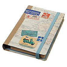 Buy Chronicle Books Bon Voyage Reporter''s Notebook Online at johnlewis.com