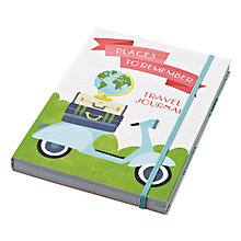 Buy Chronicle Books Bon Voyage Travel Journal Online at johnlewis.com