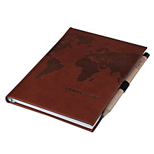 Buy Castelli Travel Journal, Brown Online at johnlewis.com