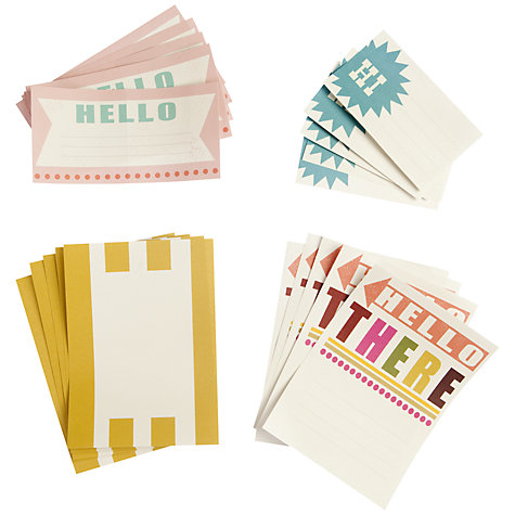 Buy Caroline Gardner Say So Parcel Stickers, Pack of 20 Online at johnlewis.com