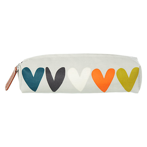 Buy Caroline Gardner Hearts Pencil Case Online at johnlewis.com
